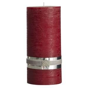 Bilde av Rustic lys 20cm tykt mørke rød