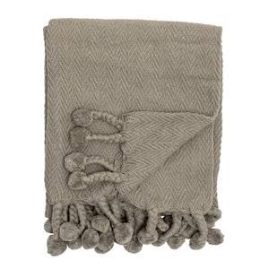 Bilde av Pledd brunt bomull 130x160 cm