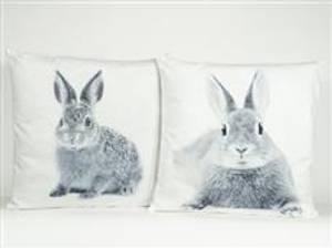 Bilde av Pute med kaninmotiv assorterte