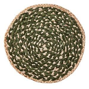 Bilde av Elina dekkebrikke natur/grønn Ø: 35 cm